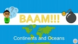 BAAM Continents and Oceans