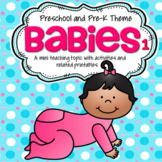 BABIES Theme Literacy and Math Activities and Centers 1
