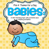 BABIES Theme Literacy and Math Activities and Centers 2
