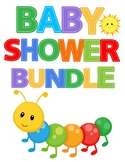BABY SHOWER SUPER MEGA BUNDLE - COLORING BOOKS FOR BAY SHOWERS! 16 BOOKS!