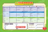 Organizer, BABYSITTER ORGANIZER