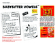 BABYSITTER VOWELS® Headband Pack (from the SECRET STORIES® Phonics Secrets!)
