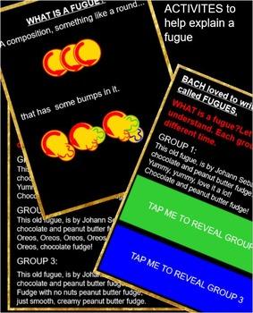 BACH - Little Fugue in G Minor- Prepare/Present TAM TI- Smartfile- Interactive