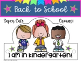 BACK TO SCHOOL 36 KINDERGARTEN HATS CROWNS/ FIRST DAY OF S