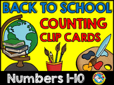 BACK TO SCHOOL ACTIVITIES PREK (BEGINNING OF THE YEAR KINDERGARTEN CENTER MATH)