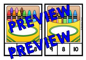 BACK TO SCHOOL KINDERGARTEN ACTIVITIES (FIRST WEEK OF SCHOOL MATH CENTER)