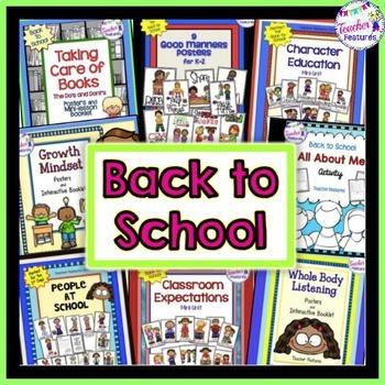 45% OFF BACK TO SCHOOL ACTIVITIES ELA BUNDLE