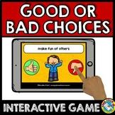 BACK TO SCHOOL ACTIVITY PREK+ (GOOD CHOICES VS BAD CHOICES