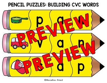 BACK TO SCHOOL ACTIVITY 1ST GRADE (BUILD CVC WORD WORK CENTER KINDERGARTEN)