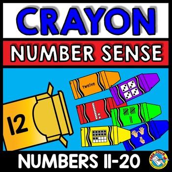 BACK TO SCHOOL ACTIVITY 1ST GRADE (TEEN NUMBERS SENSE CENTER) CRAYON BOX