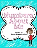BACK TO SCHOOL ACTIVITY: Numbers About Me *Interactive Notebook Cover*