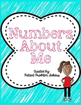 BACK TO SCHOOL ACTIVITY: Numbers About Me *Interactive Not