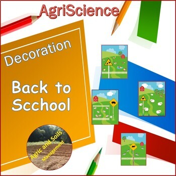 BACK TO SCHOOL AGRISCIENCE CLASSROOM DECORATION