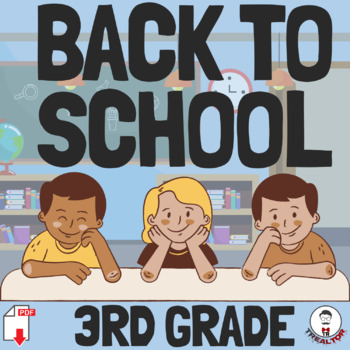 BACK TO SCHOOL ALL ABOUT ME AND MY CLASSMATES  FUN ACTIVITY FUN FIRST DAY 4-5TH