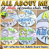 BACK TO SCHOOL: ALL ABOUT ME {Activity Wheels}