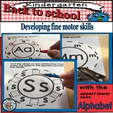 BACK TO SCHOOL ALPHABET-Fine motor in preschool/kindergarten