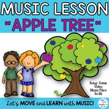 "Back to School Game Song ""Apple Tree"" Orff-Kodaly-Lessons-Worksheets Mp3"