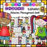 BACK TO SCHOOL BEHAVIOR MANAGEMENT REWARD/MERIT CHARTS {KIDS} COLOR