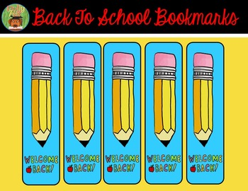 BACK TO SCHOOL BOOKMARKS {FREE!}