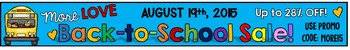 MORE LOVE BACK-TO-SCHOOL SALE BANNER FOR AUGUST 19, 2015