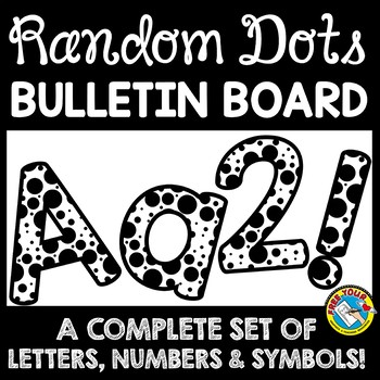 BACK TO SCHOOL BULLETIN BOARD LETTERS, NUMBER AND SYMBOLS