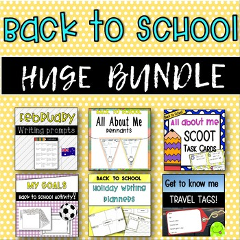 BACK TO SCHOOL BUNDLE! [6 Great Products in One!]