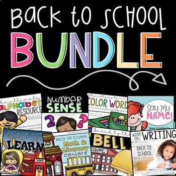 First Day of School/Back to School Bundle