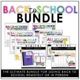 BACK TO SCHOOL BUNDLE FOR REMOTE OR IN PERSON LEARNING