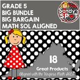 Virginia SOL Grade 5 MATH BIG BUNDLE  ALIGNED