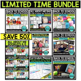 BACK TO SCHOOL BUNDLE - limited time offer 50% SAVINGS