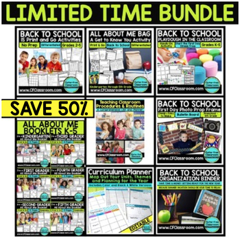BACK TO SCHOOL BUNDLE - limited time offer 60% SAVINGS