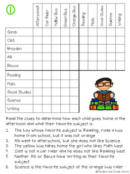 BACK TO SCHOOL Brain Teasers & Logic Puzzles