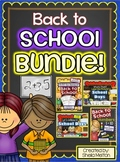 Back to School BUNDLE! Label the Picture, Build the Sentence, Writing