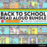 BACK TO SCHOOL Bundle of Activities and Read Aloud Lessons