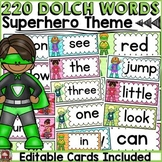DOLCH WORD WALL CLASS DECOR {PRE-PRIMER TO GRADE 3}
