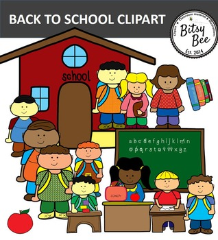 FREEBIE BACK TO SCHOOL CLIP ART