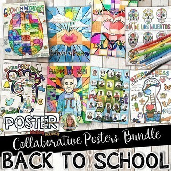 Reading and Writing Collaborative Posters Bundle
