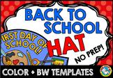 BACK TO SCHOOL CRAFTS PREK (BEGINNING OF THE YEAR ACTIVITY 1ST, KINDERGARTEN