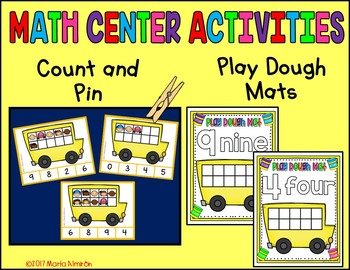 BACK TO SCHOOL - Color by Counting {Includes Digital Resource}