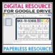BACK TO SCHOOL DIGITAL ACTIVITY: BINGO FOR GOOGLE DRIVE