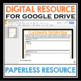 BACK TO SCHOOL DIGITAL ACTIVITY: CLASSMATE INTERVIEW (FOR GOOGLE DRIVE)