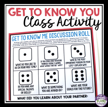 BACK TO SCHOOL DIGITAL ACTIVITY: DISCUSSION ROLL (GOOGLE DRIVE)