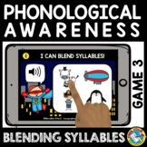 BACK TO SCHOOL DISTANCE LEARNING BLENDING SYLLABLES BOOM C
