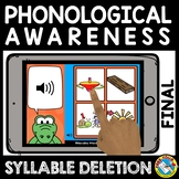 BACK TO SCHOOL DISTANCE LEARNING FINAL SYLLABLE DELETION B