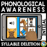 BACK TO SCHOOL DISTANCE LEARNING INITIAL SYLLABLE DELETION