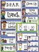 BACK TO SCHOOL: EDITABLE SCHEDULE CARDS