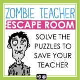 HALLOWEEN ESCAPE ROOM TEAM BUILDER: ZOMBIE TEACHER
