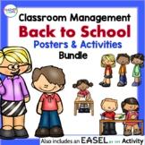 BACK TO SCHOOL ACTIVITIES + EASEL Activities Bundle for K-2