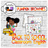 BACK TO SCHOOL: English in the classroom