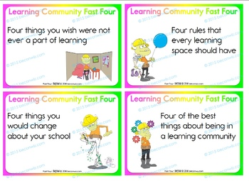 BACK TO SCHOOL – FAST FOUR